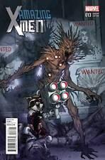 Amazing X-Men #13 Marvel Comic 2013 Sara Pichelli Variant Rocket Raccoon Groot