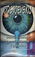 Delitto e castigo-Le notti bianche-Il giocatore- Dostoevskij - nuovo in offerta!