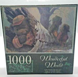 NEW Sealed Wonderful World Teddy Bear Puzzle 1000 piece