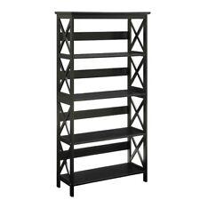 Convenience Concepts Oxford 5 Tier Bookcase, Black - 203050