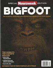 Newsweek Magazine Bigfoot Special Edition NM America's Elusive Legend