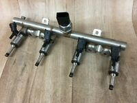 BMW 1 Series 114i F21 2012 1.6 Petrol N13B16A fuel injectors + rail + sensor