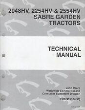 JOHN DEERE SABRE GARDEN TRACTORS TM-1741 (JUL 98) TECHNICAL MANUAL (165)