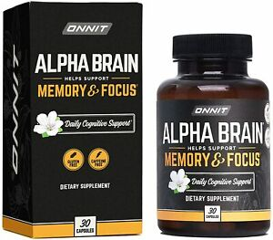 ONNIT Alpha Brain (30ct) - Over 1 Million Bottles Sold - 30 Count (Pack of 1)
