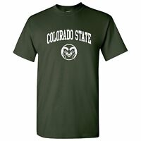 Colorado State Rams Arch Logo Licensed Unisex T-Shirt
