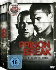 Prison Break Box Die komplette Serie 24 DVDs Staffel 1-4 (1+2+3+4+Final Break)