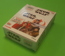 TOPPS Star Wars gli ultimi cavalieri Jedi Sticker 1 x Display - 30 cartocci NUOVO