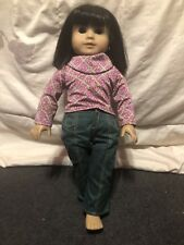 American Girl Ivy Ling Doll Friend Of Julie In Orginal Outfit Asian