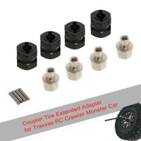 NEW 12mm RC Car Widen Adapter Accessories Set for 1/10 TRAXXAS TRX-4 TRX4 Wheels