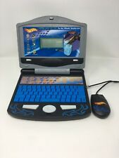 Hot Wheels Learning Computer Blue Flames Accelerator Electronic Laptop No Cables