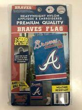 "Party Animal - Mlb Atlanta Braves - Flag House Banner 44"" x 28"" - Blue"