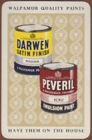 Playing Cards 1 Single Card Old WALPAMUR Darwen + Peveril PAINT Advertising Art