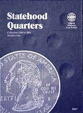 Whitman Statehood Quarters Coin Folder Album 9697 1999-2001 Book #1