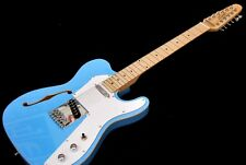 BLEM PROJECT CLASSIC DAPHNE BLUE SEMI HOLLOW TELE 12 STRING ELECTRIC GUITAR