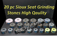 "20 x VALVE SEAT GRINDING STONES SIOUX 11/16"" X 16 TPI THREAD BRAND NEW"