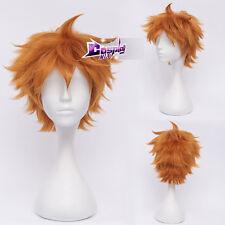 Haikyu!! Hinata Shoyo Orange 12'' Short Layered Anime Cosplay Wig Heat Resistant