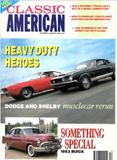 CLASSIC AMERICAN CARS Magazine. #16 Jan 1992 - Dodge & Shelby, 1953 Buick