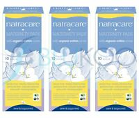 Natracare New Mother Maternity Pads - 10 Pieces (Pack of 3)