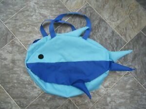Paperchase ~ Kids Blue Fish / Swim Bag