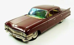 "1961 Cadillac Fleetwood 17"" (43.2 cm) Japanese Tin Car by SSS Shioji NR"