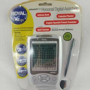 Royal Info To Go Extreme 5 Personal Digital Assistant Translator Calendar PDA
