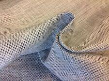 Black Edition Romo Semi Plain Upholstery Fabric- Riley Quartz 4.75 yd (7602/03)