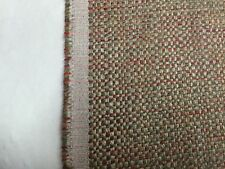 Pearson Textiles 1135-71 Plain Tweed Woven Uph.Fabric Red/Grey 9 yds.