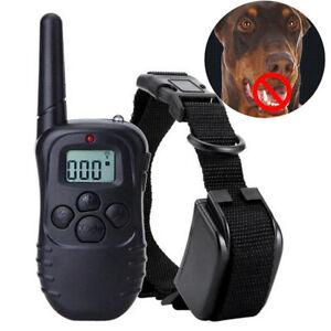 Antibell Hunde Halsband Collar Trainer Erziehungshalsband mit Ton Vibration 300m