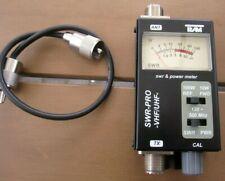 SWR und Leistungsmesser TEAM SWR-PRO  120 - 500 MHz  VHF/UHF