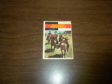 TV WESTERN CARD #43 - Topps 1958 - UNION PACIFIC television