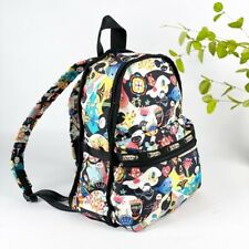 LeSportSac Basic Backpack Planet Reef Print RARE 2011 Water Resistant Travel