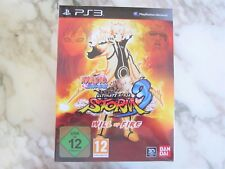 Naruto Shippuden Ultimate Ninja Storm 3 Will of Fire Collector Edition PS3 NEW