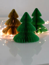 Christmas tree tissue paper Honeycomb -christmas-party -room decorations - 20cm