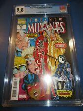 New Mutants #98 Facsimile Reprint 1st Deadpool Key CGC 9.8 NM/M Gorgeous Gem Wow
