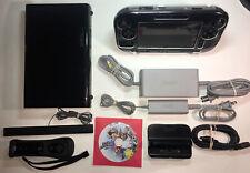 Nintendo Wii U 32GB Complete Console Bundle W Smash Bros & Wiimote Tested