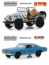 ACE VENTURA DIECAST TOY CAR PACKAGE - TWO 1/64 SCALE DIECAST MODEL CARS