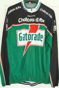 Gatorade - Salotti - Chateau d'ax Long Sleeve Cycle/Cycling Jersey - Adult - XXL
