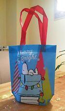 !! Snoopy & Woodstock  / Peanuts - Beutel / Tüte Bag blau rot / Neu mit Etikett