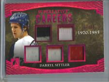 Darryl Sittler 2017 In The Game Superlative Game Used Jersey Patch #17/25
