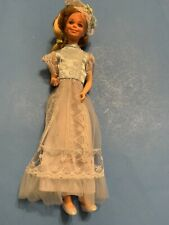 Skipper Barbie Doll In Flower Girl Frills 1979 1419 Doll With Fashion