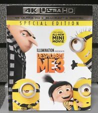 Despicable Me 3 | 4K Ultra HD /100% Genuine Bluray/ Digital | Ships Fast