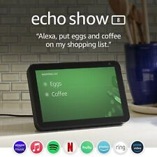 Echo Show 8 - HD smart display with Alexa – stay connected with video callin...