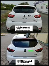 Renault Clio 4 (CAR MODELS WITH REAR CAMERA) (2013-2016) REAR BLACK BADGE COVER