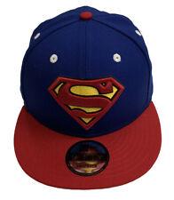 Superman Symbol Royal Scarlet New Era 9Fifty Snapback Cap Hat
