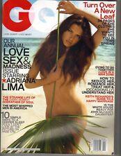 Adriana Lima GQ Revista 4/08 Keith Richards Terry Richardson Claudia Schiffer