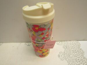 Kate Spade Brand New with Tag ~ Floral Dot Thermal Mug 16 Ounce Beautiful!