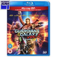 GUARDIANS OF THE GALAXY VOL.2 Blu-ray 3D + 2D (REGION-FREE)