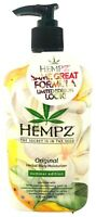 Hempz Organic ORIGINAL Herbal Body Moisturizer Lotion Summer Edition - 17 Oz