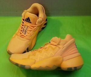 🔥👟Adidas DON Issue 2 Crayola Gold Basketball Size 4 US (FW8753)