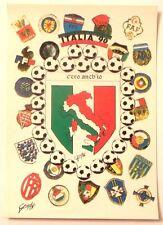Cartolina Italia 90 - C'Ero Anch'Io Stemma Italia Stivale